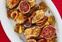 Smak av varmare dagar / Dagarna går mot ljuvliga tider med sol, värme och ljumna kvällar. Likaså maten.