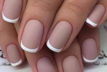 Unghie con french manicure