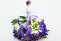 rochii flori