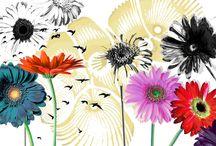 The Secret Garden / 2015. Digital Art de Marilena Barquero para muro de mosaico Bisazza.