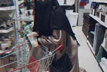 Niqab girl being happy