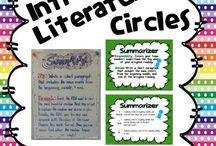 literature circles / by Carla Mcdonald