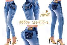 moda dama jeans
