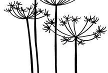 植物シルエット
