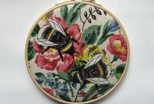 pintura e bordado