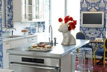 Wallpapered Kitchens