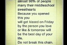 Middle school sweet hearts! Crushes