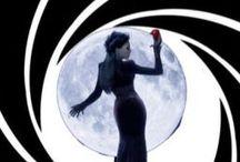 How Regina met James Bond / #ouat once upon a time #EvilQueen #Regina #JamesBond