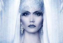 Фотосессия зима снежная королева
