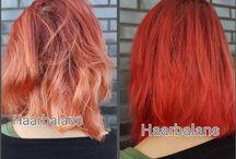 Red Haircolor
