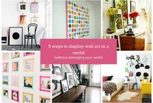 5 Ways to Display Wall Art in a Rental (Without Damaging the Walls)