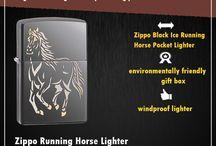 Zippo horse lighter