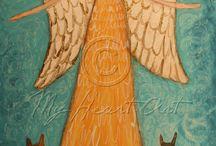 Ангелы / У каждого человека есть свой Ангел.  Хочется найти своего...