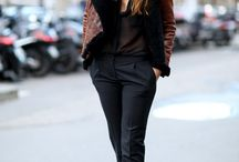 street style / Simple fashion with a little bit of edge