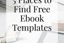 Ebooks and templates