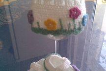 pletení, háčkování, šití, tvoření - moje výroba / pletené svetříky, čepičky, botičky, body, šatky,....,