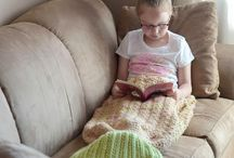 Crochet Mermaid Tail Patterns / Mermaid tails are just so COOL! Make your own mermaid tail blanket in adult or kid's size and have fun customizing it! Find these patterns to download as PDFs on LoveCrochet and get started!