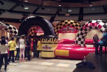 Party Rentals for Every Event! / Inflatables, Equipment, Tents, Games, Carnival Rides, and Entertainment.