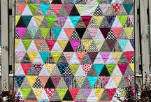 Triangle Quilts / Triangle quilts