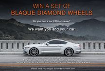 COMPETITION TIME - Win a Set of Blaque Diamond Wheels / Go to http://blog.blaquediamond.com/2015/04/competition-time-win-set-of-blaque.html to enter!
