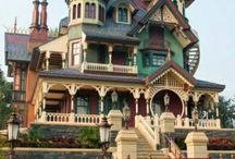 Halcyon Homes / Painted Ladies, Friends of Queen Anne, Women of the Second Empire, and Some Italian Beauties. (A few Art Nouveau, Goth & Neo-Classic, too!) / by Lou