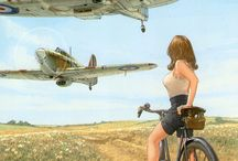 WW II art