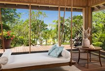 Indoor Outdoor Living / Luxury Caribbean homes where indoor spaces merge seamlessly with outdoor spaces.