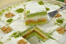 pasta ve kek