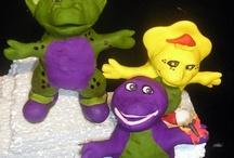 Barney & Friends Cakes