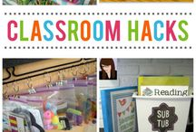 Classroom Organization / Classroom organization hacks and ideas