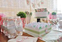 Chá de Bebê Menina / Muitas ideias lindas para você se inspirar ao decorar um chá de bebê menina!
