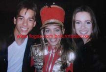 Sandy e junior Xuxa e paquitas e Luan Santana