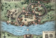 Карты Деревень