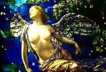 Glass - John La Farge / Please check out the new Stained Glass group at www.facebook.com/groups/417136395030585, where you can join the conversation and post pics and queries about stained glass!