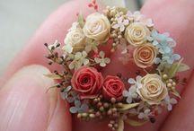 miniaturki kwiatków