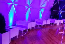 BTL Group, november 2014 / Our white furnitures design in blue shaddow.