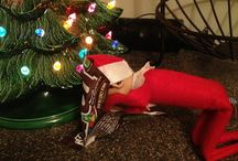 Xmas elf / Elf on the shelf ideas for 2013