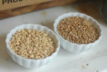 Freshly ground wheat