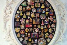 pins. displaying