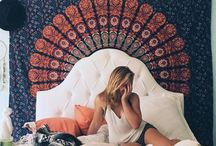 Tapestry/ bedroom