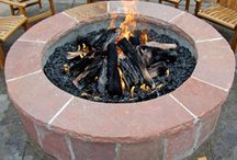 Fire Pits and Places / What's better than sitting outside by your fire, relaxing by your water feature?