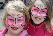 Face painting butterflies / by Kiandra Young