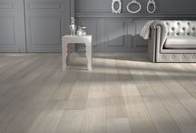 Wood floors / We have Oak wood floors in a variety of colors and textures.