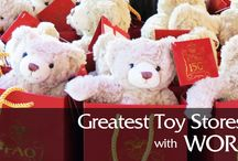 Greatest Toy Stores Around The World / Christmas is just around the corner and we have decided to take you to explore different cultures through their toys.    If you decide to travel to any of these destinations, why not to bring home a cool souvenir from one of these shops?