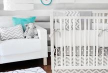 DIY Nursery Inspiration / Decorations, designs, and craft ideas for nursery rooms.