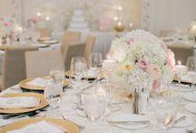 wedding table decor / by Jessica Thompson