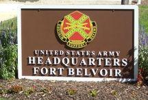 Fort Belvoir Signs