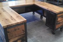 Possible and existing projects for clients from CR Desings custom furniture and decor.