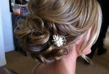 Wedding ideas found on Pinterest. / Hair and make-up ideas for weddings.