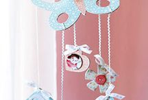 Girls' Room art / My little girls' room art - canvases etc